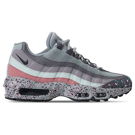 WOMEN'S AIR MAX 95 SE RUNNING SHOES, GREY