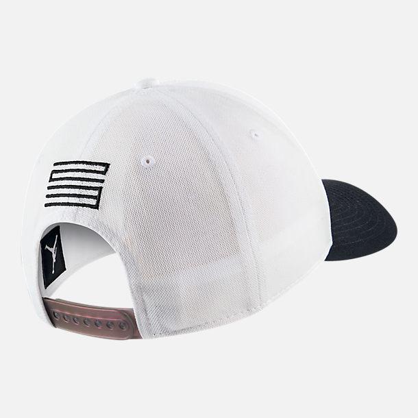size 40 0b139 83e46 ... where to buy back view of jordan classic 99 aj retro 11 legacy snapback  hat in ...