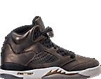 Girls' Grade School Air Jordan Retro 5 Premium Heiress Collection (3.5y - 9.5y) Basketball Shoes