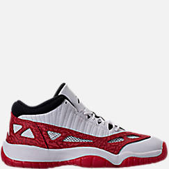 Boys' Grade School Air Jordan Retro 11 Low IE Basketball Shoes