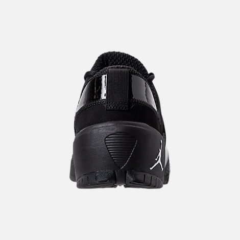 Back view of Men's Jordan Alpha Trunner Training Shoes in Black/White/Black