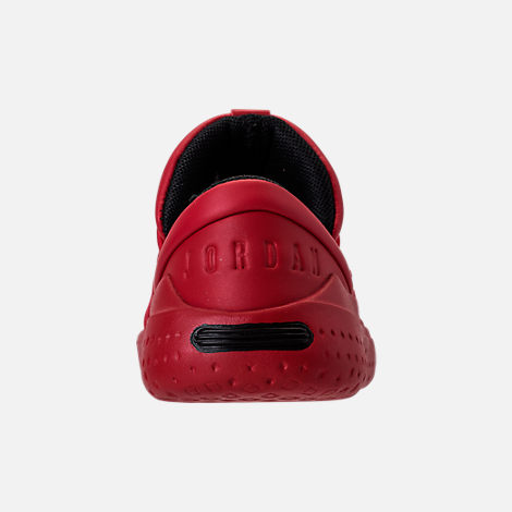 Back view of Boys' Toddler Jordan Flight Luxe Shoes in Gym Red/Black/Gym Red