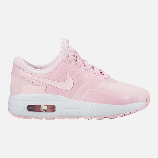 Right view of Girls' Preschool Nike Air Max Zero SE Running Shoes in Prism Pink/Prism Pink/White