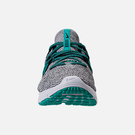 1dd864a9f86a Front view of Men s Nike Air Max Sequent 3 Casual Shoes in White Hyper Jade