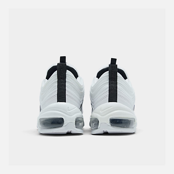 Left view of Women's Nike Air Max 97 Casual Shoes in White/Black/Summit White/White