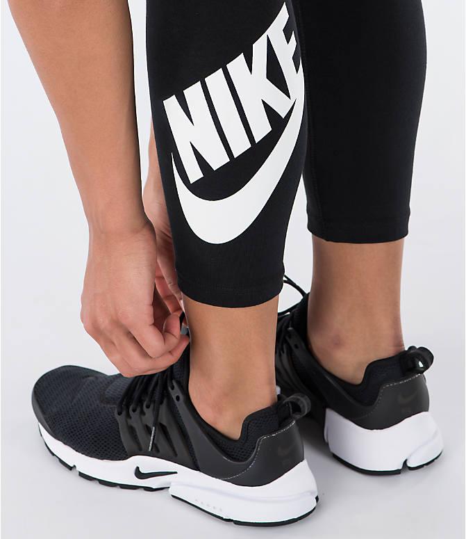 e2261b5b520ae Detail 2 view of Women's Nike Leg-A-See Logo Crop Leggings