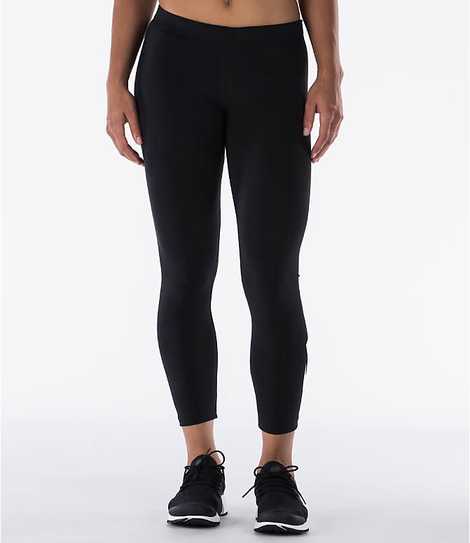 1cc6ff050dc26 Front Three Quarter view of Women's Nike Leg-A-See Logo Crop Leggings