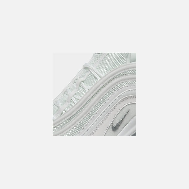 cc3ace7670 Front view of Men's Nike Air Max 97 Casual Shoes in White/Wolf Grey/
