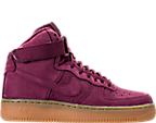 Boys' Grade School Nike Air Force 1 High WB Casual Shoes