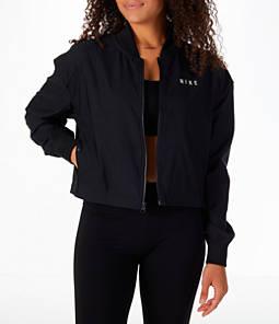 Women's Nike Sportswear Mesh Bomber Jacket