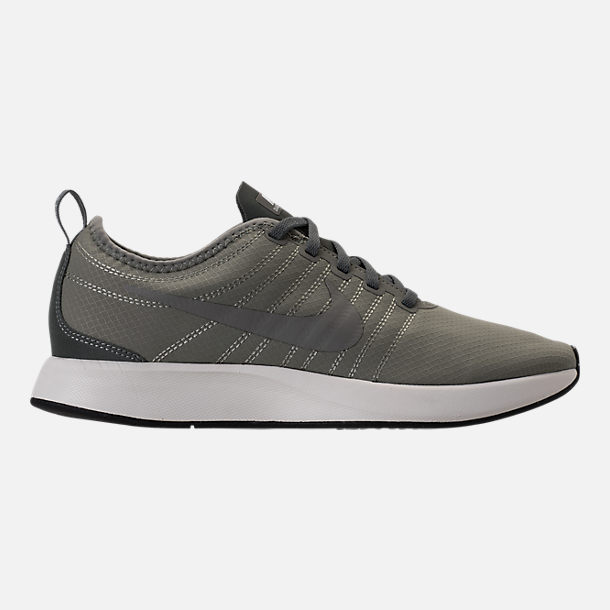 Right view of Men's Nike Dualtone Racer SE Casual Shoes in Dark Stucco/River Rock