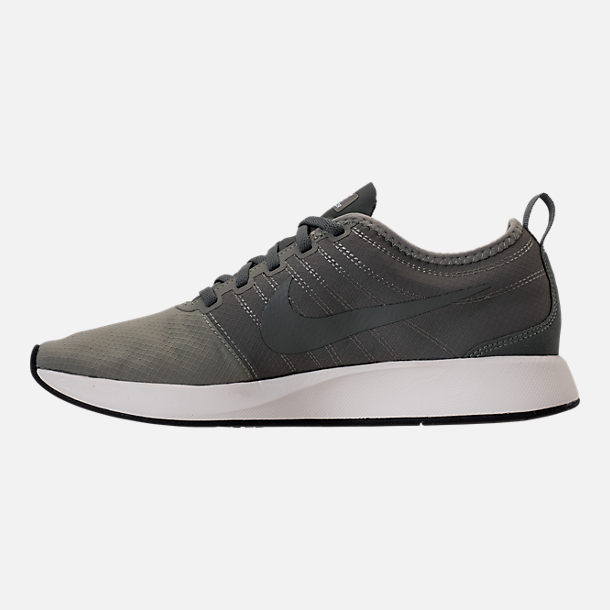Left view of Men's Nike Dualtone Racer SE Casual Shoes in Dark Stucco/River Rock