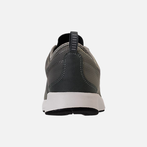 Back view of Men's Nike Dualtone Racer SE Casual Shoes in Dark Stucco/River Rock