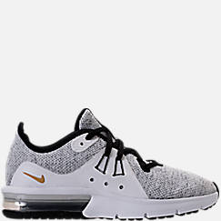big sale 9993c 2f3ea ... finish line 4a704 4b5ce  cheap boys grade school nike air max sequent 3  running shoes d5a1a 6b25e