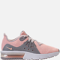 Girls' Big Kids' Nike Air Max Sequent 3 Running Shoes