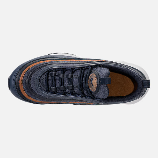 Top view of Boys' Grade School Nike Air Max 97 UL '17 SE Casual
