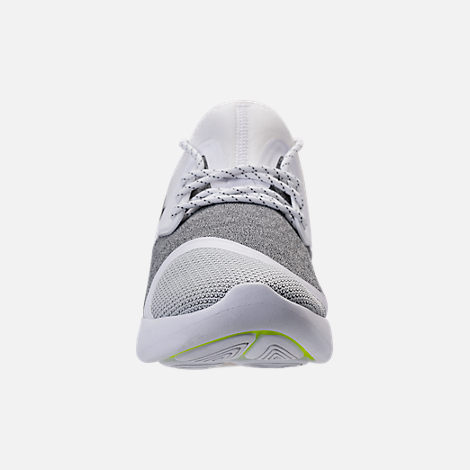 Front view of Women's Nike Lunar Charge Essential Casual Shoes in White/Black/White