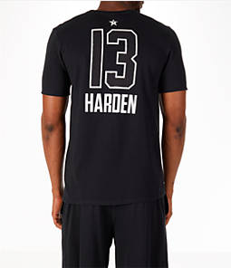 Men's Air Jordan NBA James Harden All-Star Name and Number T-Shirt