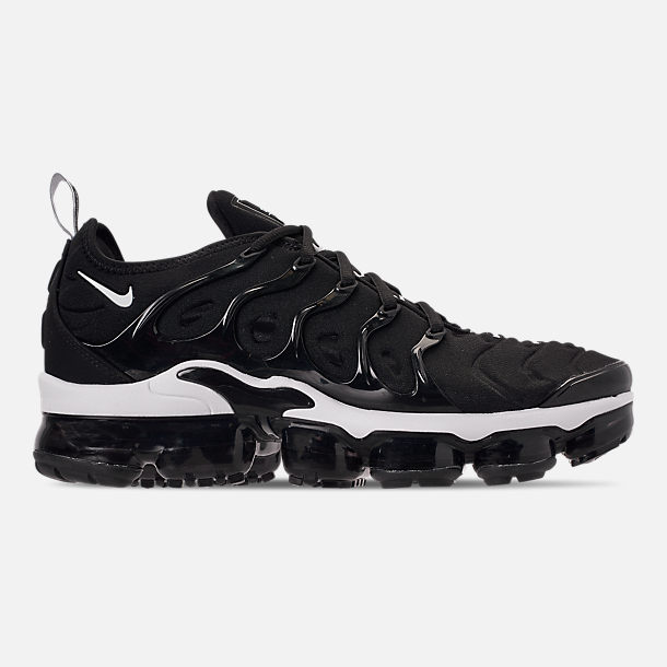 new concept 4c7be d58b4 Right view of Men s Nike Air VaporMax Plus Running Shoes in Black White