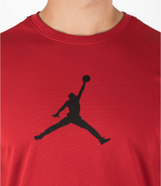 Detail 1 view of Men's Air Jordan Dry 23/7 Basketball T-Shirt in Gym Red