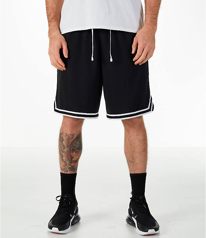 Front view of Men s Nike Dry DNA Basketball Shorts in Black b81eb3411