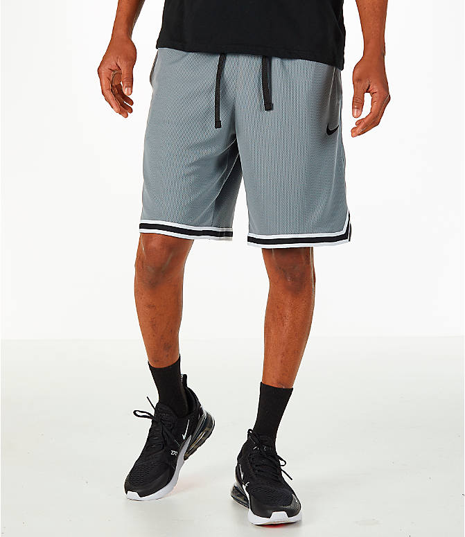 0c4b4d01e697b3 Front view of Men s Nike Dry DNA Basketball Shorts in Grey