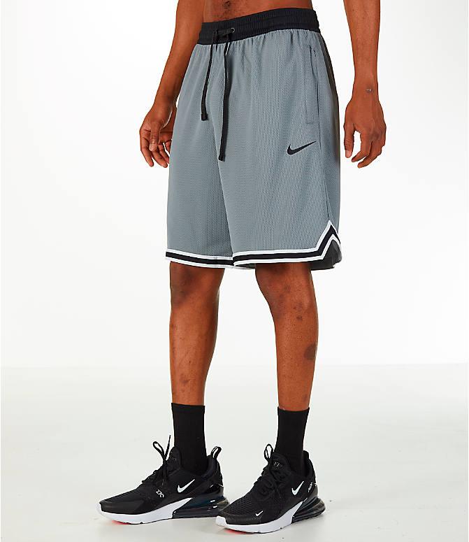 bcca66e7e6a7 Front Three Quarter view of Men s Nike Dry DNA Basketball Shorts