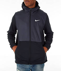 Men's Nike Therma Basketball Full-Zip Hoodie