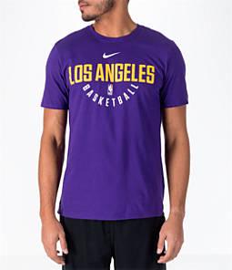 Men's Nike Los Angeles Lakers NBA Dry Practice T-Shirt