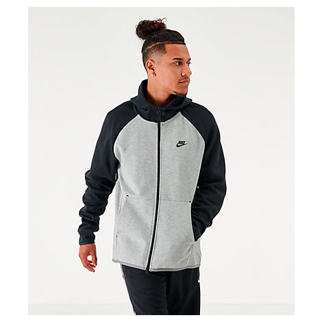 7ababa92 Men's Sportswear Tech Fleece Full-Zip Hoodie, Grey - Size Small