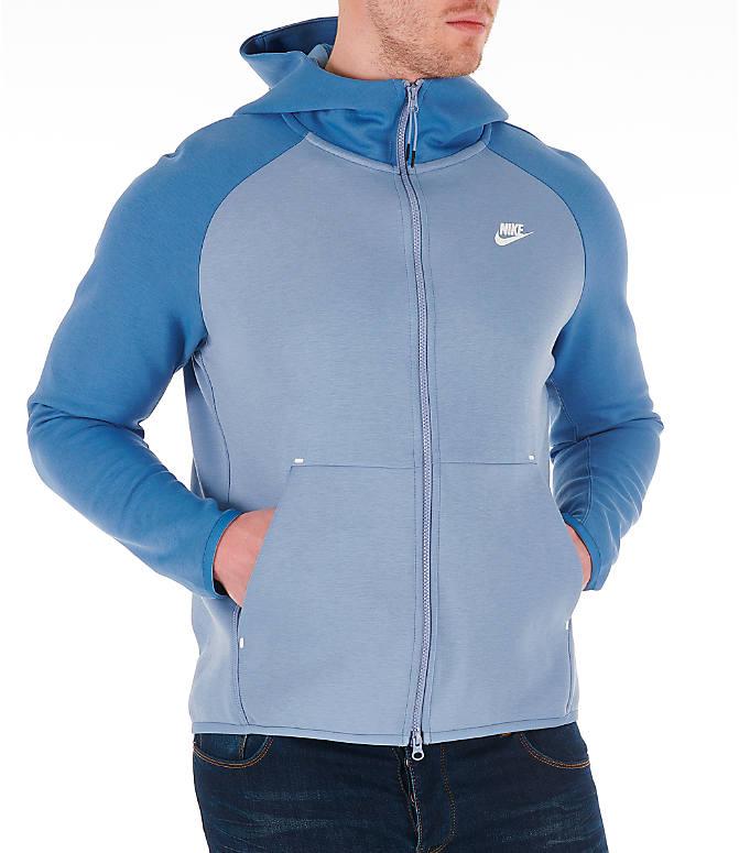 free shipping 986d8 6778d Detail 2 view of Men s Nike Sportswear Tech Fleece Full-Zip Hoodie