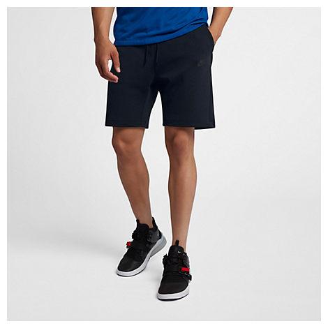 Nike Shorts NIKE MEN'S SPORTSWEAR TECH FLEECE FLEECE SHORTS IN BLACK SIZE 4XL 100% COTTON/POLYESTER/FLEECE