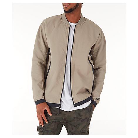 Nike Bomber jackets MEN'S SPORTSWEAR TECH WOVEN TRACK JACKET, BROWN