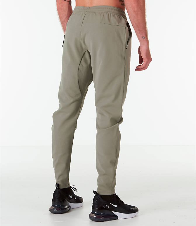 938a6a7924680 ... best price back right view of mens nike sportswear tech woven jogger  pants in stucco 8e0cb