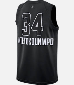 Men's Air Jordan NBA Giannis Antetokounmpo All-Star Edition Connected Jersey