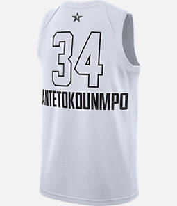 Men's Air Jordan NBA Giannis Antetokounmpo All-Star Edition Connected Jersey