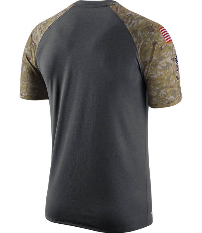 sports shoes 8f812 5f207 Men's Nike Minnesota Vikings NFL Salute to Service T-Shirt ...