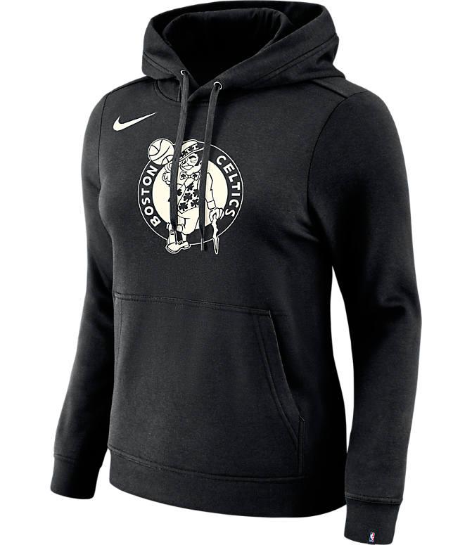 new style d5c51 403b4 Women's Nike Boston Celtics NBA Logo Hoodie