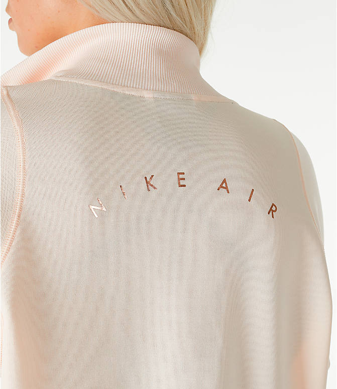 Detail 2 view of Women's Nike Sportswear N98 Track Jacket in Guava Ice/Rose Gold