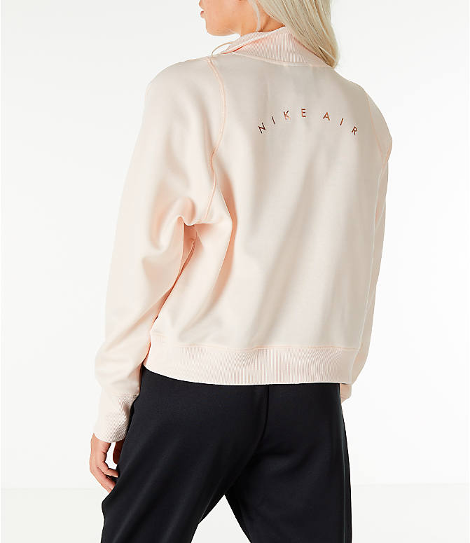 Back Left view of Women's Nike Sportswear N98 Track Jacket in Guava Ice/Rose Gold