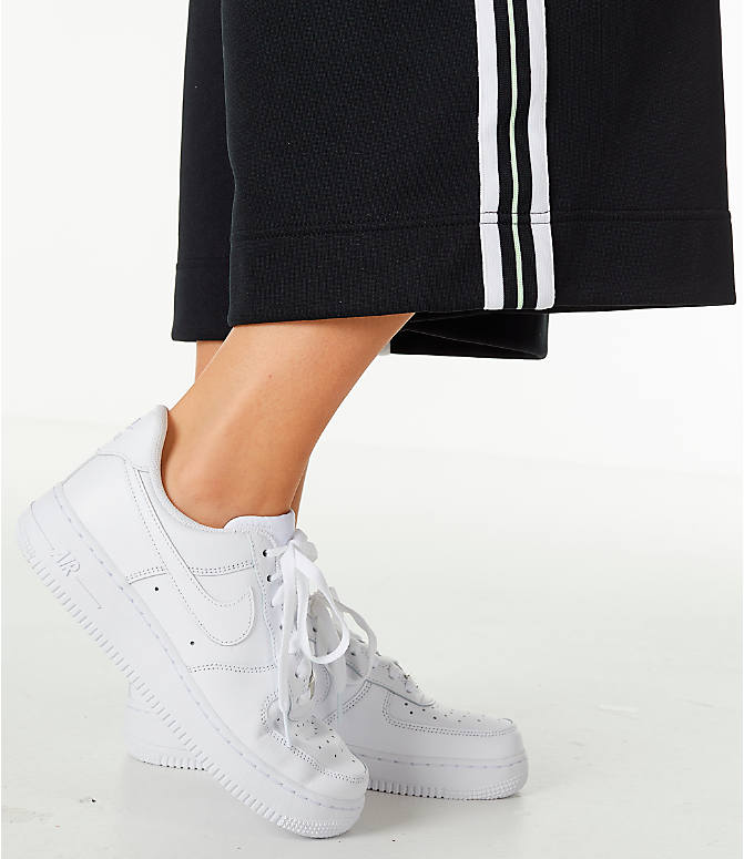 Detail 2 view of Women's Nike Sportswear Wide Leg Pants in Black/White