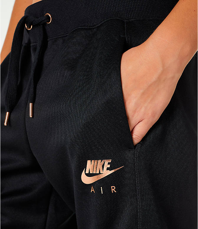 Detail 1 view of Women's Nike Sportswear Jogger Pants in Black/Rose Gold