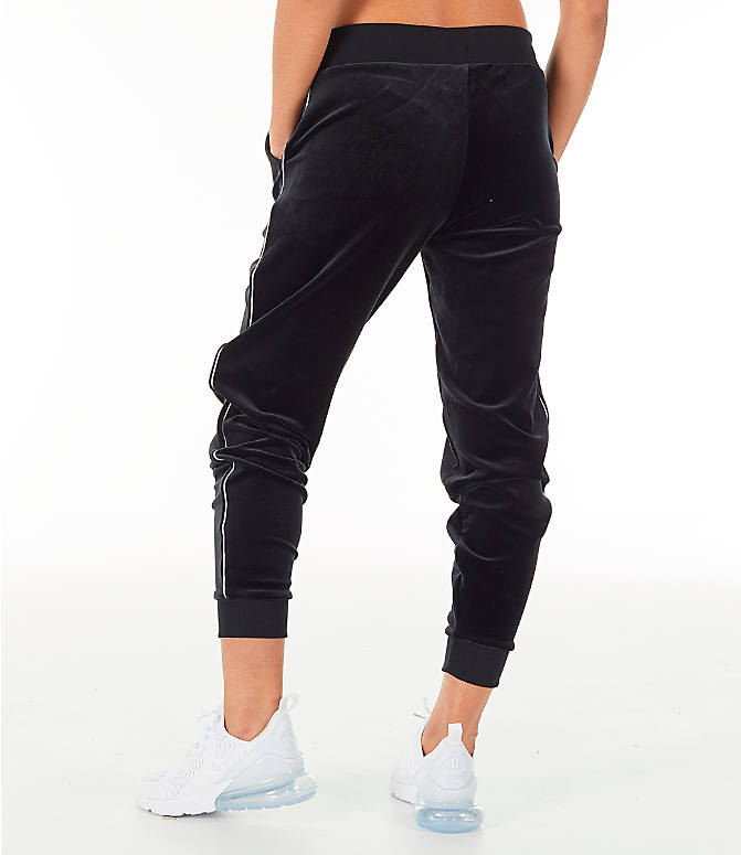 Back Left view of Women's Nike Sportswear Velour Jogger Pants