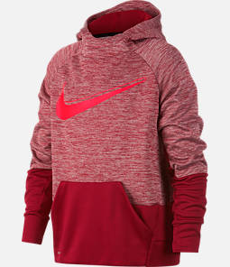 Boys' Nike Graphic Training Therma Pullover Hoodie