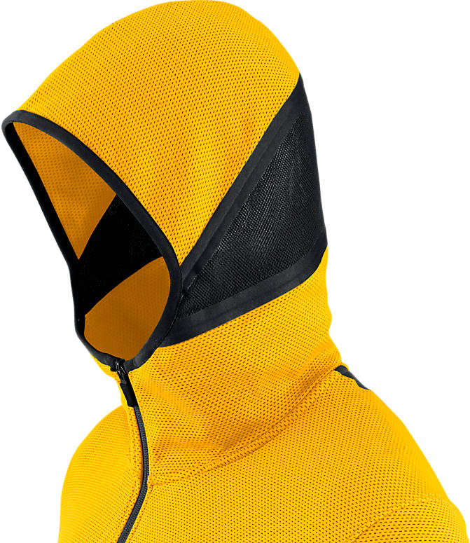 Product 4 view of Men's Nike Denver Nuggets NBA Showtime Therma Flex Full-Zip Hoodie in Amarillo
