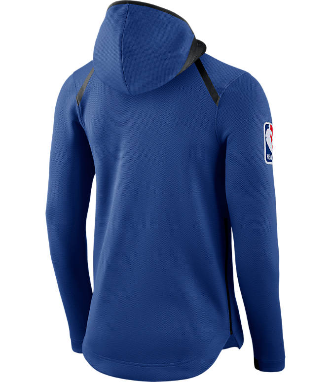 Product 3 view of Men's Nike New York Knicks NBA Showtime Therma Flex Full-Zip Hoodie