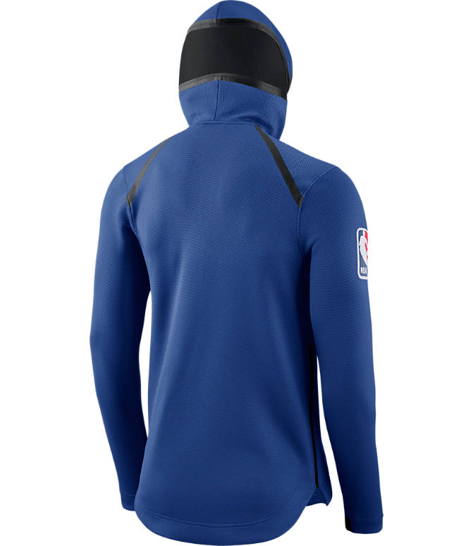Product 5 view of Men's Nike New York Knicks NBA Showtime Therma Flex Full-Zip Hoodie