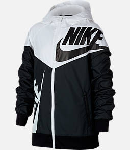 5ccc4b42b29f7f Boys  Nike Sportswear Windrunner Full-Zip Jacket