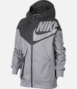 0110bce44ebd Boys  Nike Sportswear Windrunner Full-Zip Jacket