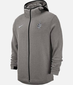 Men's Nike Cleveland Cavaliers NBA Dri-FIT Showtime Full-Zip Hoodie